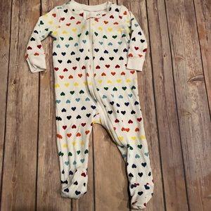 Primary rainbow heart sleeper